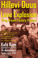 Hillevi Duus med Love Explosion Prog Dream Factory Project